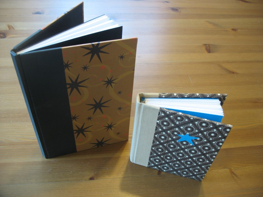 Blank Hardcover Journals