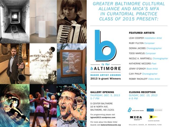 Baker_Artist_Awards_b_is_for_Baltimore_POSTCARD_MED